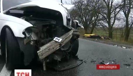В ДТП близ Николаева погибла целая семья