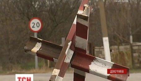 """Бойовики заблокували виїзд з підконтрольної їм території біля блокпосту """"Гнутове"""""""