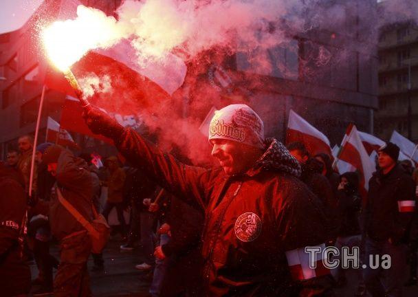 День незалежності Польщі святкують десятками протестів та демонстрацій