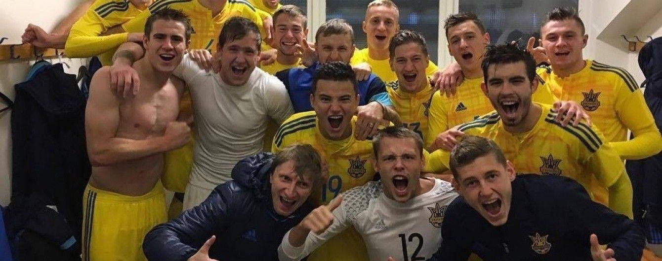 Українська молодіжка обіграла Білорусь у товариському поєдинку