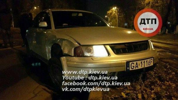 У Києві сталася масштабна ДТП з гонитвою і стріляниною
