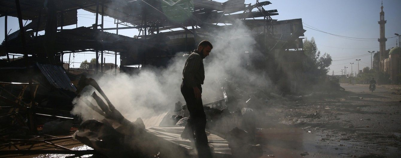 У Сирія коаліція розгромила штаб ІД у Рацці
