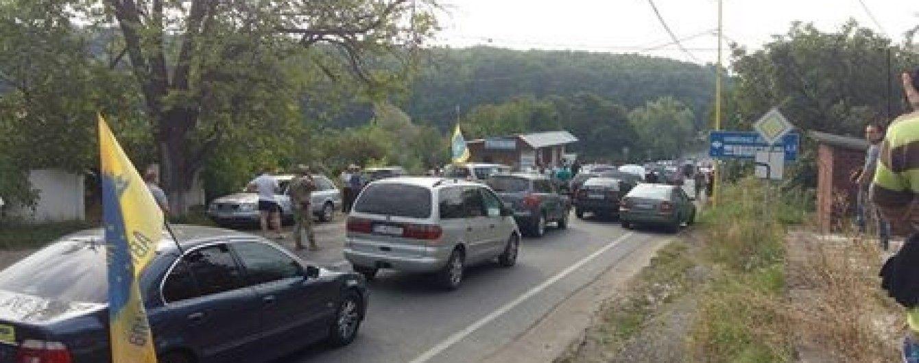 Проти блокувальників кордону на Закарпатті відкрили кримінальну справу