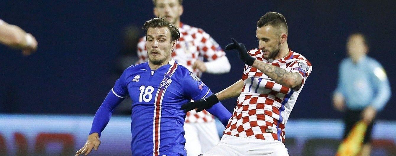 """Хорватія на """"городі"""" перемогла Ісландію у відборі до ЧС-2018"""