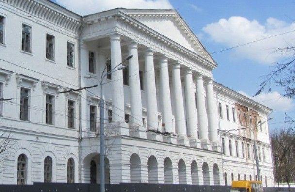 В центре Полтавы горело историческое здание