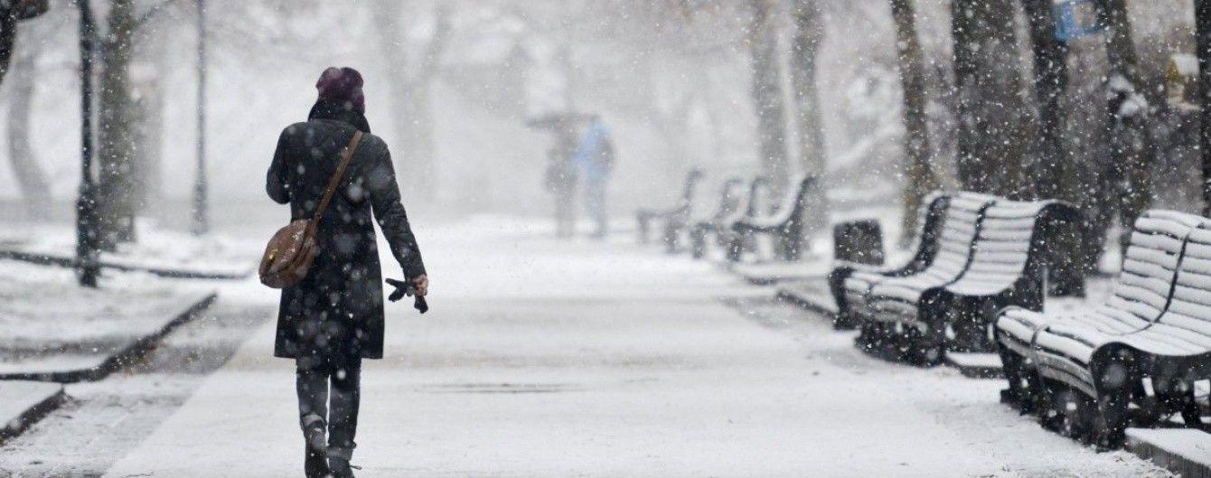 """Зима близько. Синоптики прогнозують Україні чотириденний """"сніговий апокаліпсис"""""""