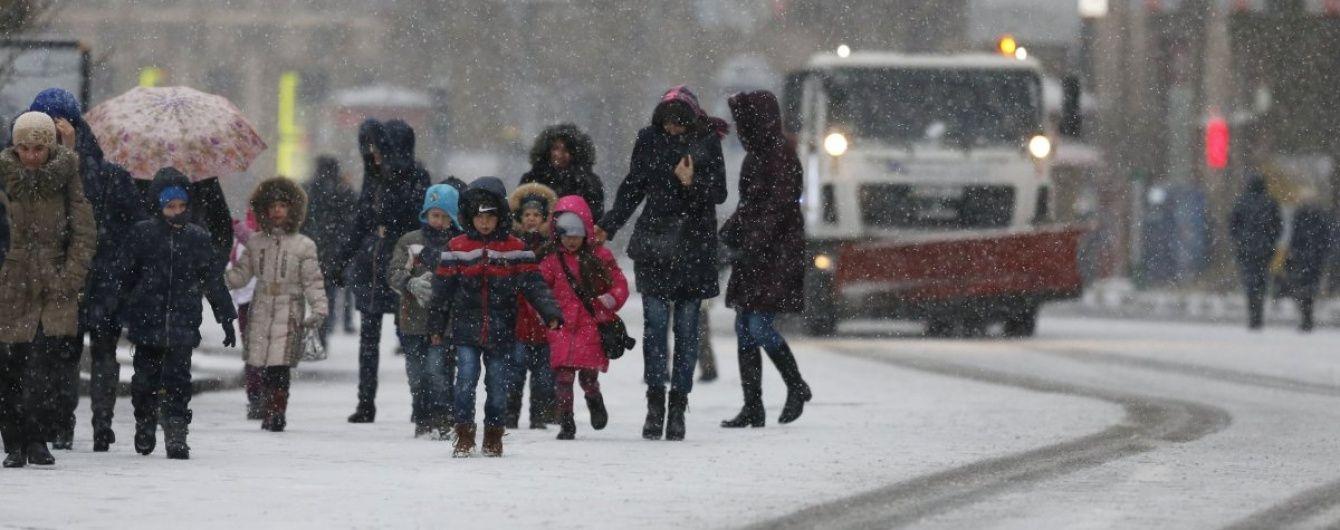 У Кличка оприлюднили попередження киянам через сніг та ожеледицю