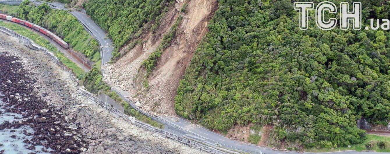Унаслідок землетрусу два новозеландські острови наблизилися один до одного
