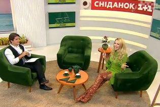 Сексуальна Оля Полякова у золотистих ботфортах та короткій сукні розповіла про своє супершоу