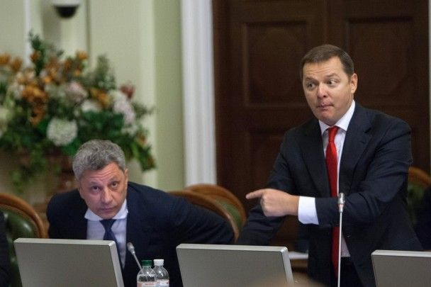 """Удар в голову та крики про """"московську гниду"""". Як Бойко та Ляшко билися у Раді"""