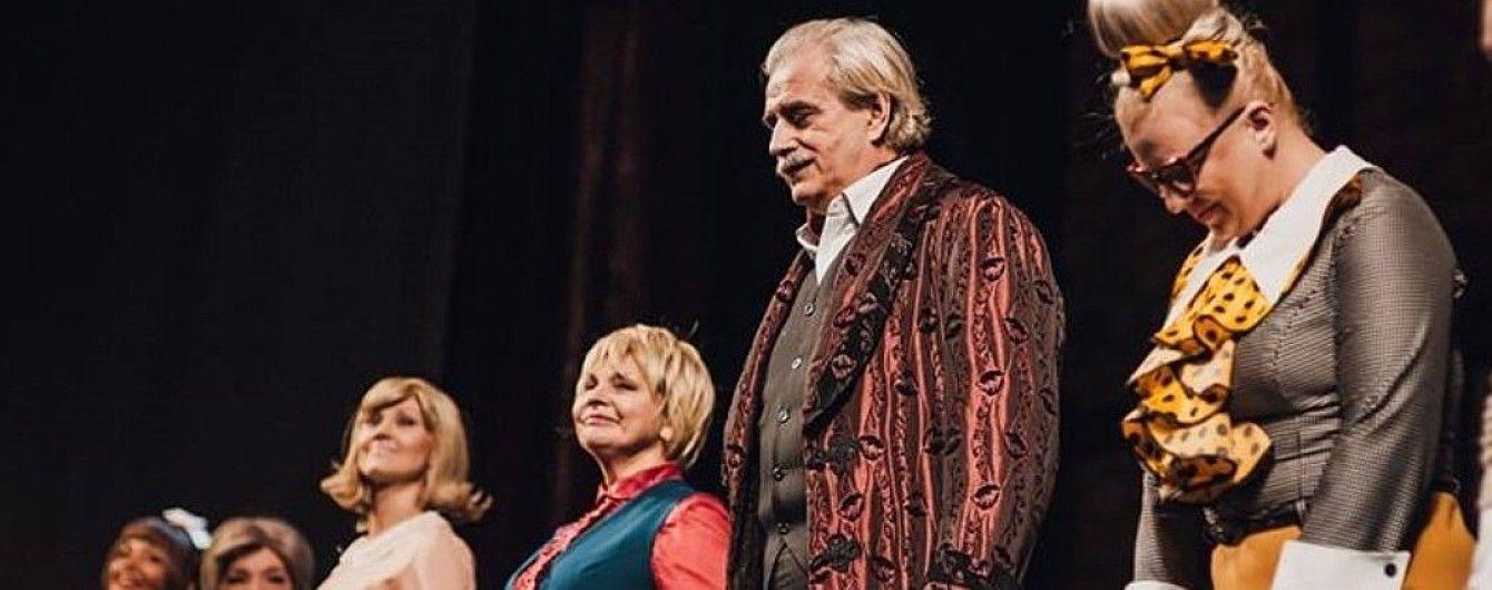 Російський актор помер на сцені після поклону глядачам