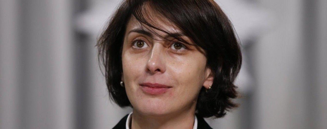 Деканоїдзе заявила, що не очолила б Нацполіцію при нинішньому уряді України