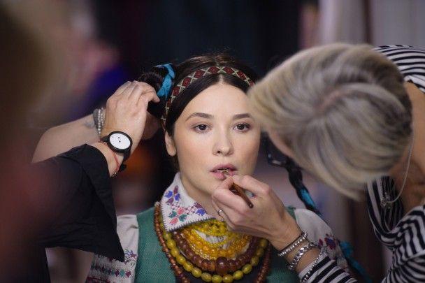 Вітвіцька, Фреймут та Завальська вбралися у розкішні національні костюми