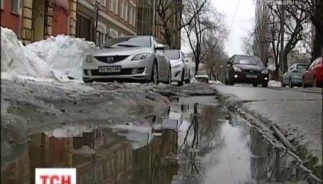 Синоптики обещают потепление после снегопадов