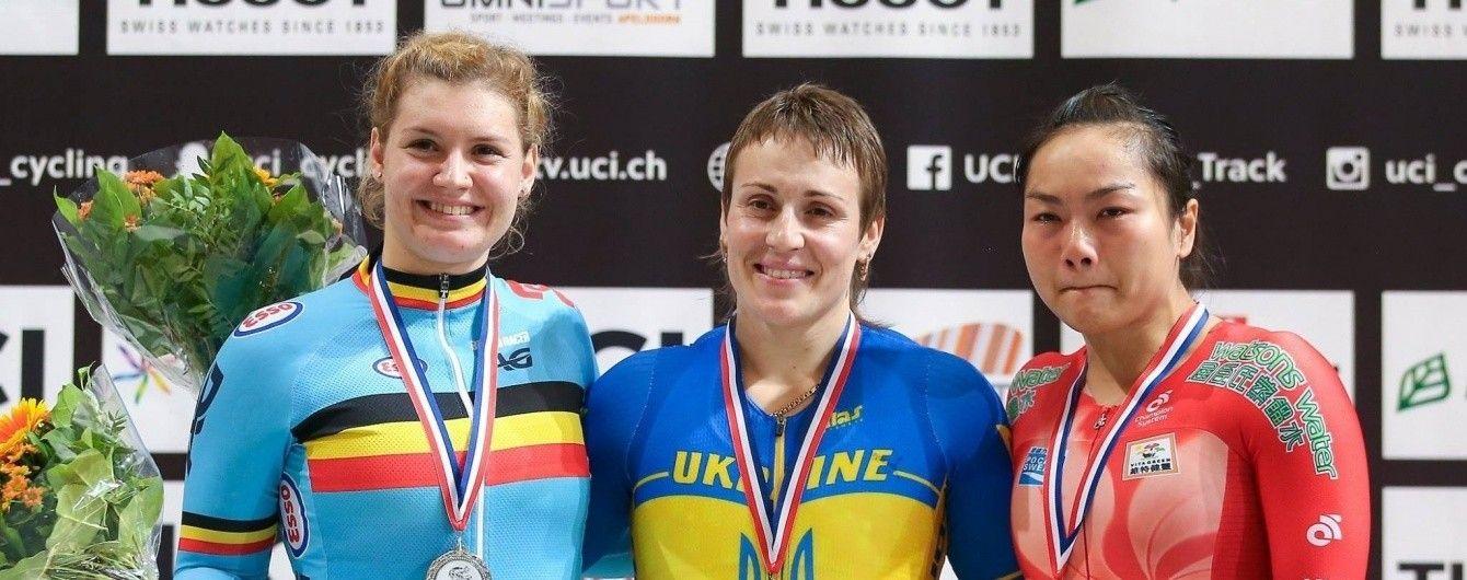 """Два """"золота"""" та """"срібло"""". Українці підкорили другий етап Кубку світу з велоспорту"""