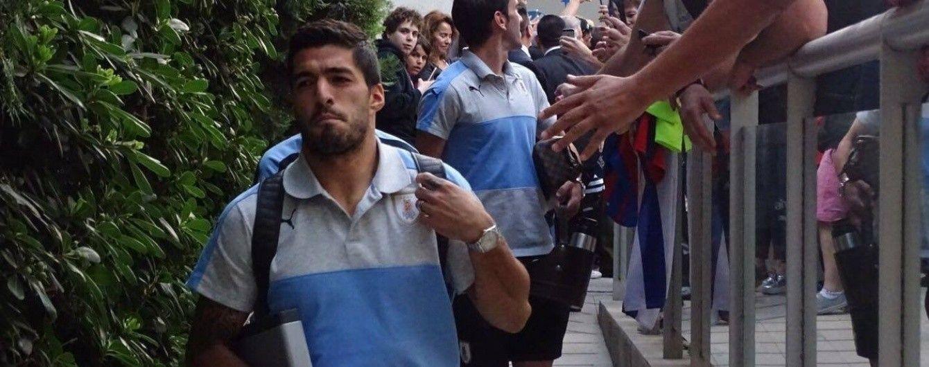 """Зірковий форвард """"Барселони"""" змінив амплуа на тренуванні збірної Уругваю"""