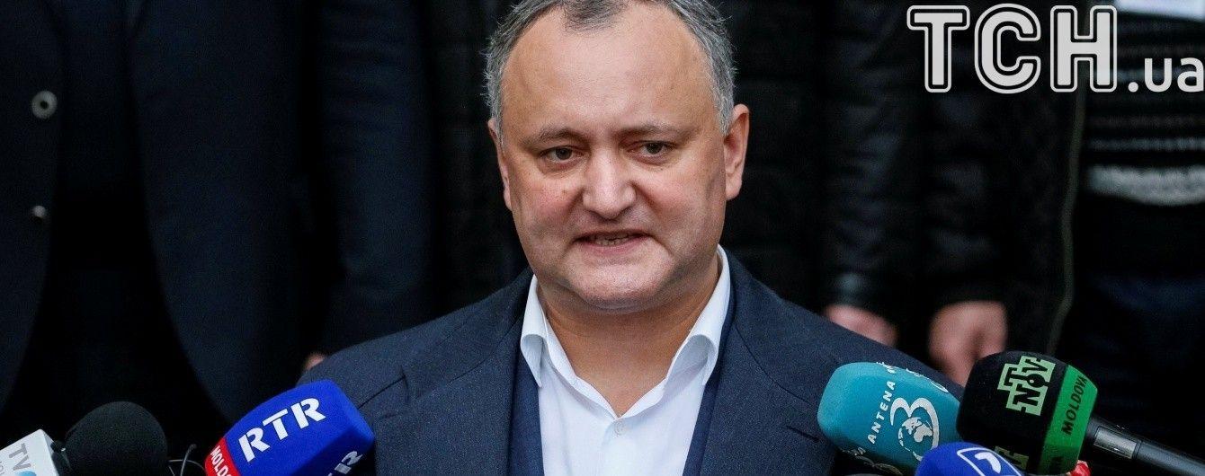 Президент Молдовы Додон раскритиковал новый закон об образовании