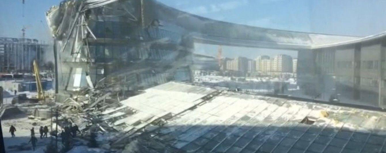 Наче землетрус. У Казахстані стався обвал на будівництві споруди Всесвітньої виставки