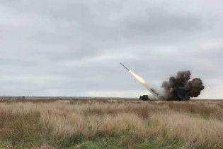Бірюков показав відео успішного запуску ракет українського виробництва