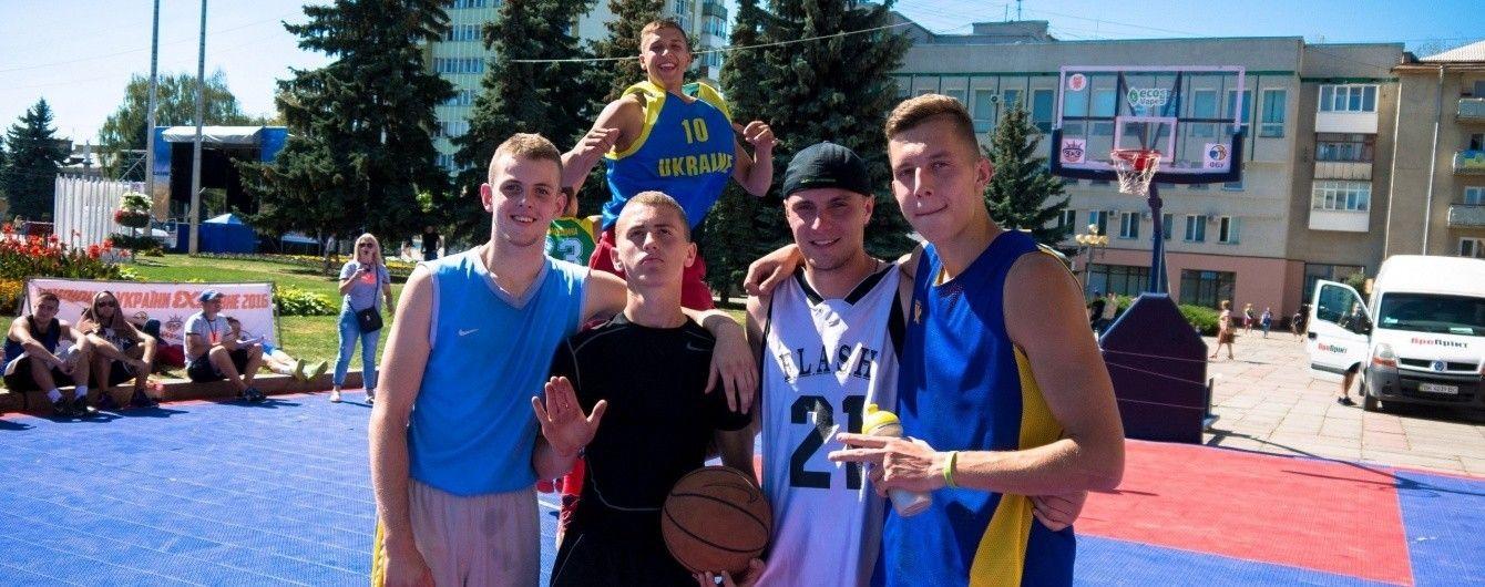 На чемпіонатах світу з баскетболу 3х3 зіграють три збірні України