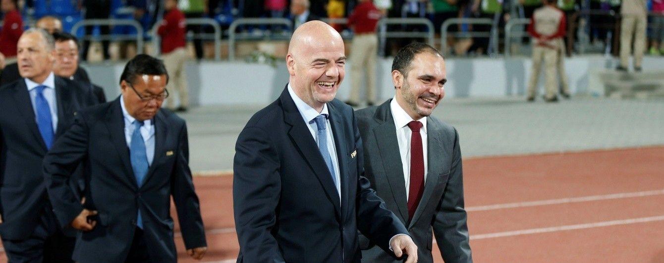 Президент ФІФА хоче змінити рейтинг збірних