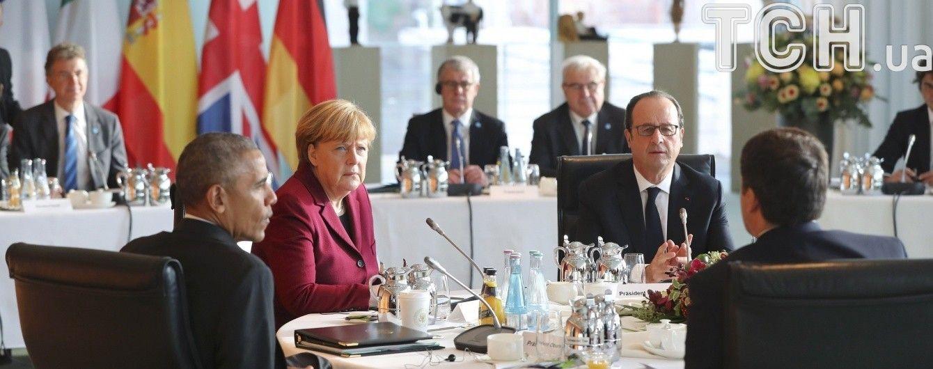 Обама домовився із лідерами ЄС щодо подовження санкцій проти РФ