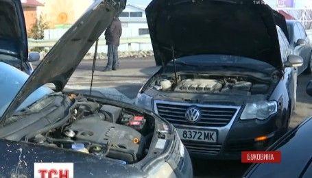 Владельцы автомобилей с иностранной регистрацией блокировали международную трассу на Буковине