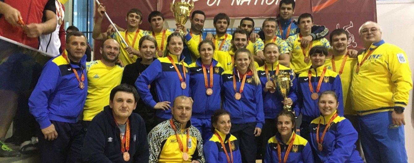 Українські борці посіли третє місце на Кубку Європейських Націй