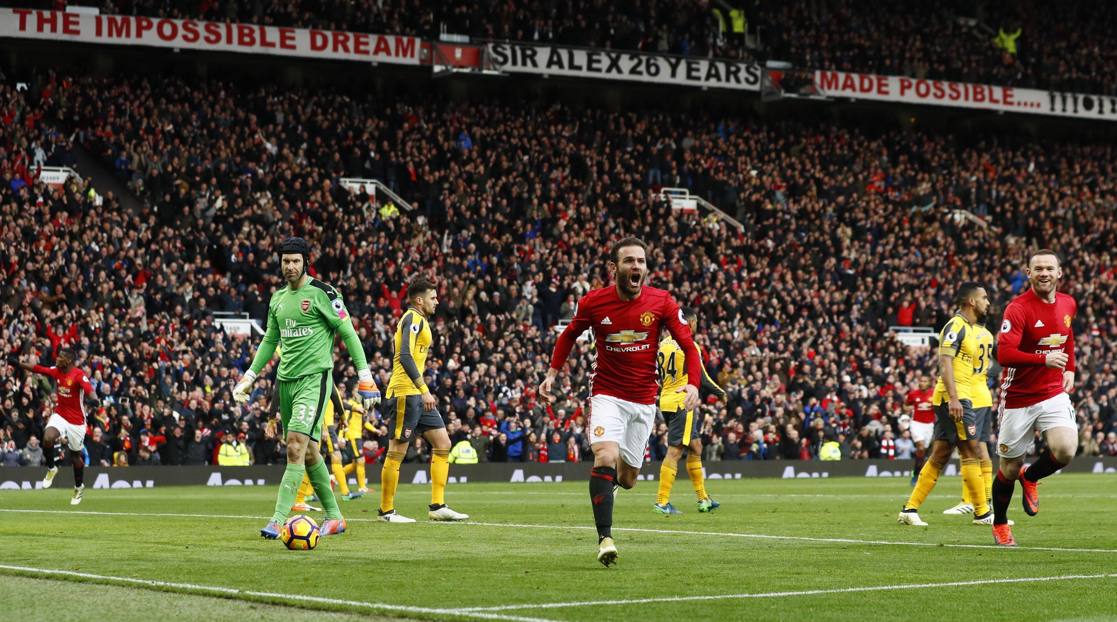 Хуан Мата Манчестер Юнайтед - Арсенал
