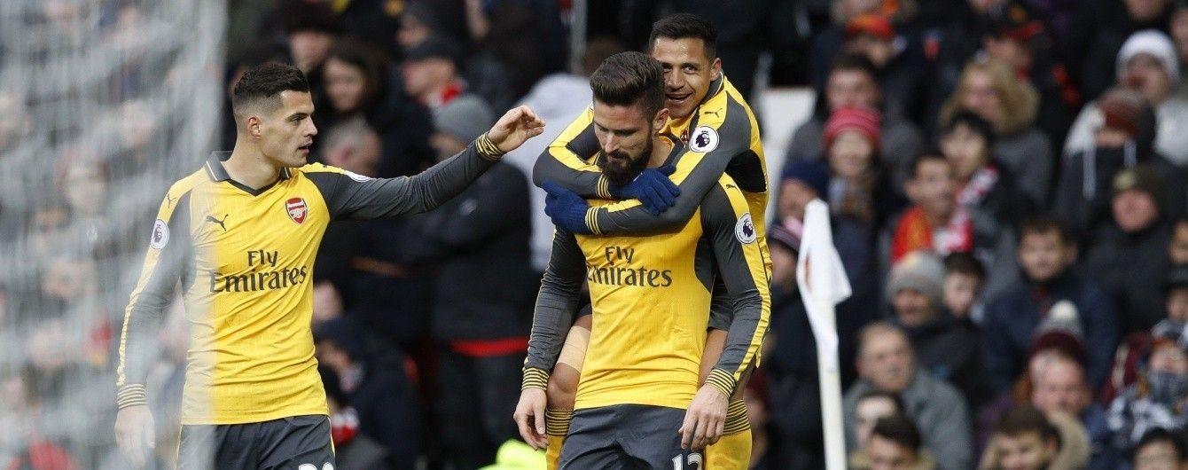 """""""Арсенал"""" вирвав нічию в """"Манчестер Юнайтед"""" у супербитві чемпіонату Англії"""