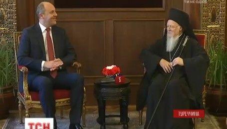Вселенський патріарх Варфоломій благословив Україну