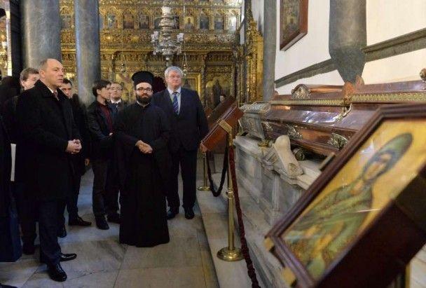 Парубій обговорив зі Вселенським Патріархом Варфоломієм утворення єдиної церкви в Україні