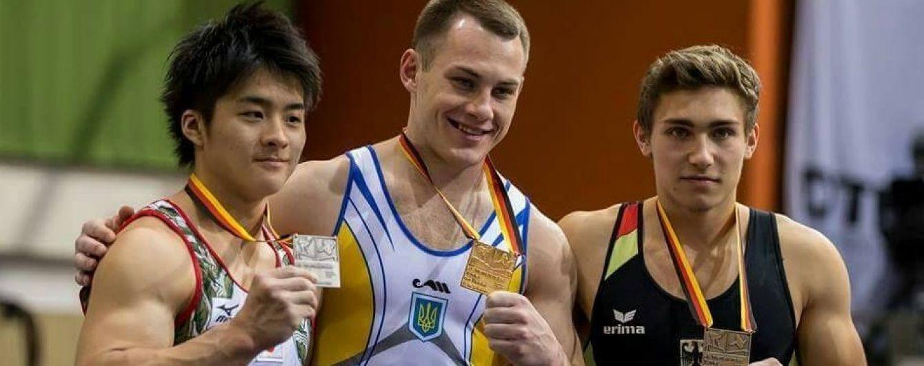 Українські гімнасти взяли дві медалі на етапі Кубка світу в Німеччині