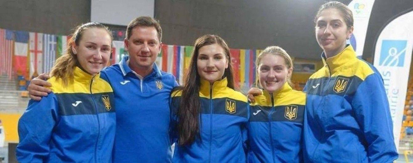 "Украинские саблистки завоевали ""серебро"" на этапе Кубка мира во Франции"