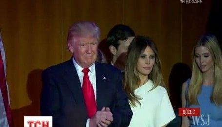 Дональд Трамп переїде до Білого Дому без сім'ї