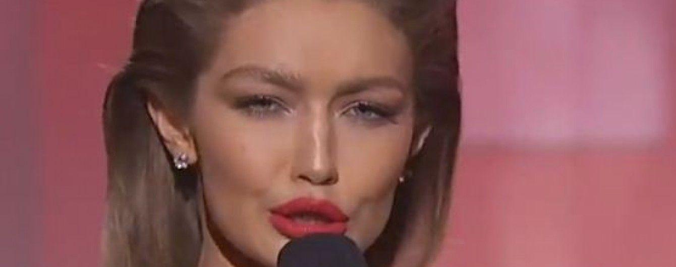 """""""Пародистка"""" Джіджі Хадід перепросила за свій жарт перед Меланією Трамп"""