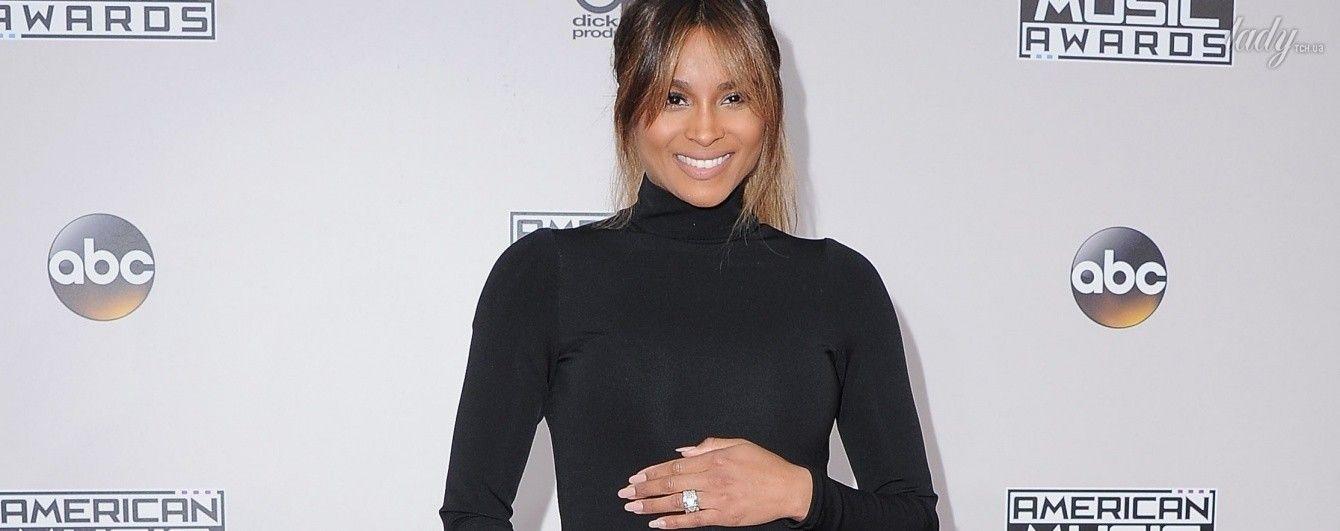 Беременная и самая красивая: Сиара поразила выбором платья на American Music Awards