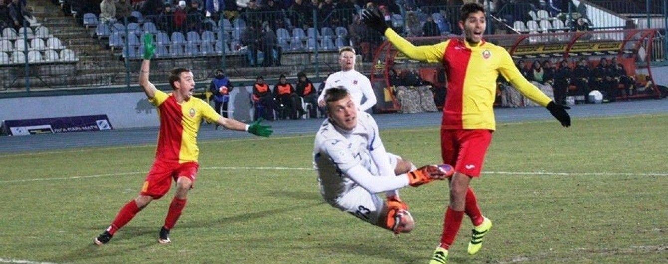 """Матч """"еліти"""" чемпіонат України запідозрили у договірному характері"""