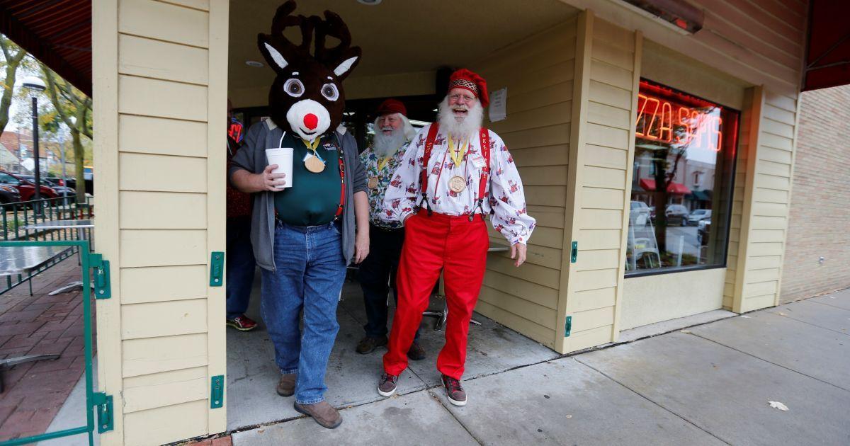 Школа Санта-Клаусів у штаті Міччиган у США