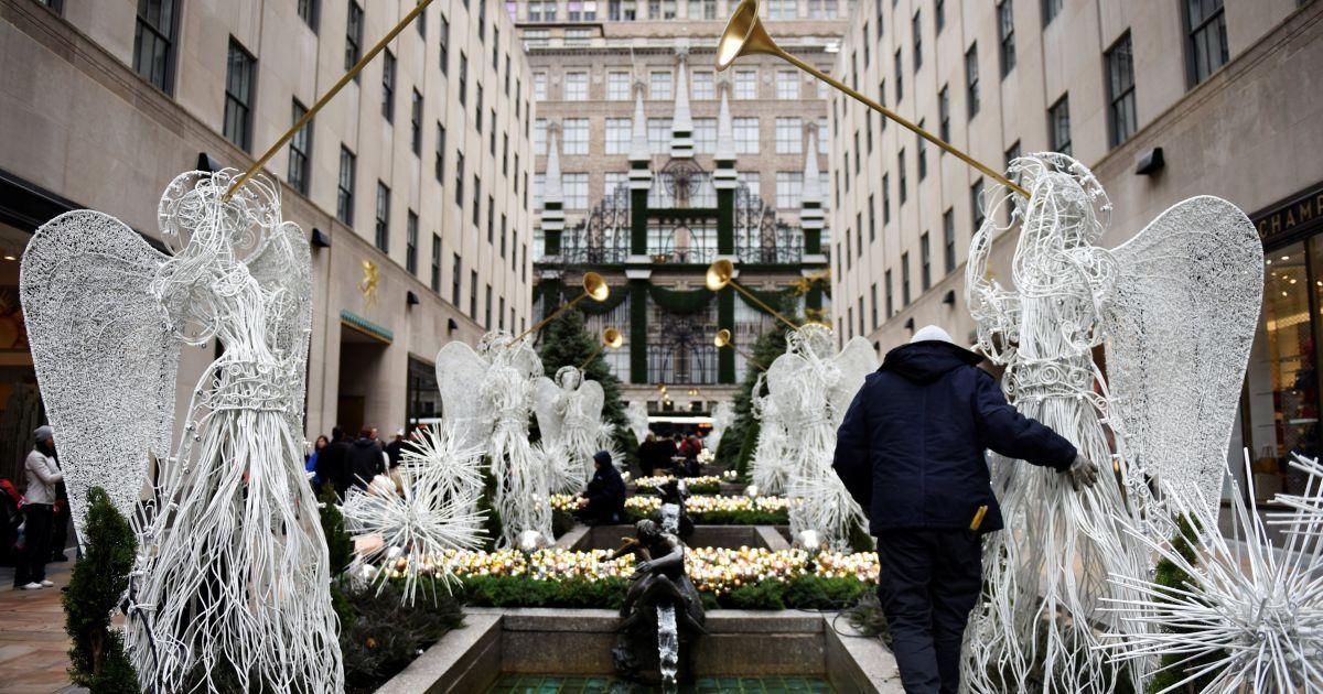 Різдвяний Нью-Йорк