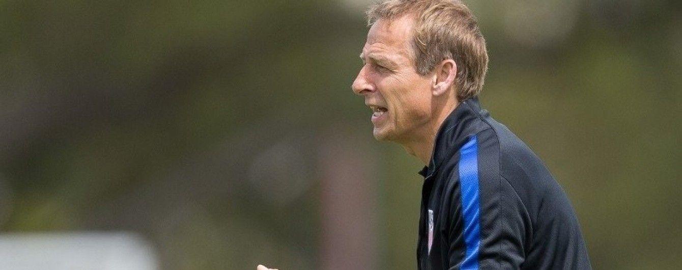 Збірна США вигнала німецького тренера через незадовільний результат у відборі на ЧС-2018