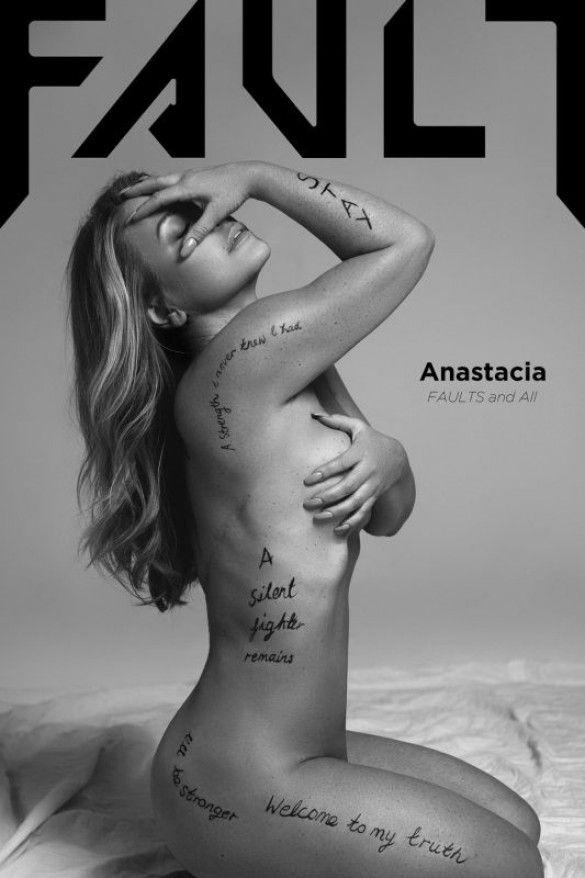 Анастейша у журналі fault-magazine_1