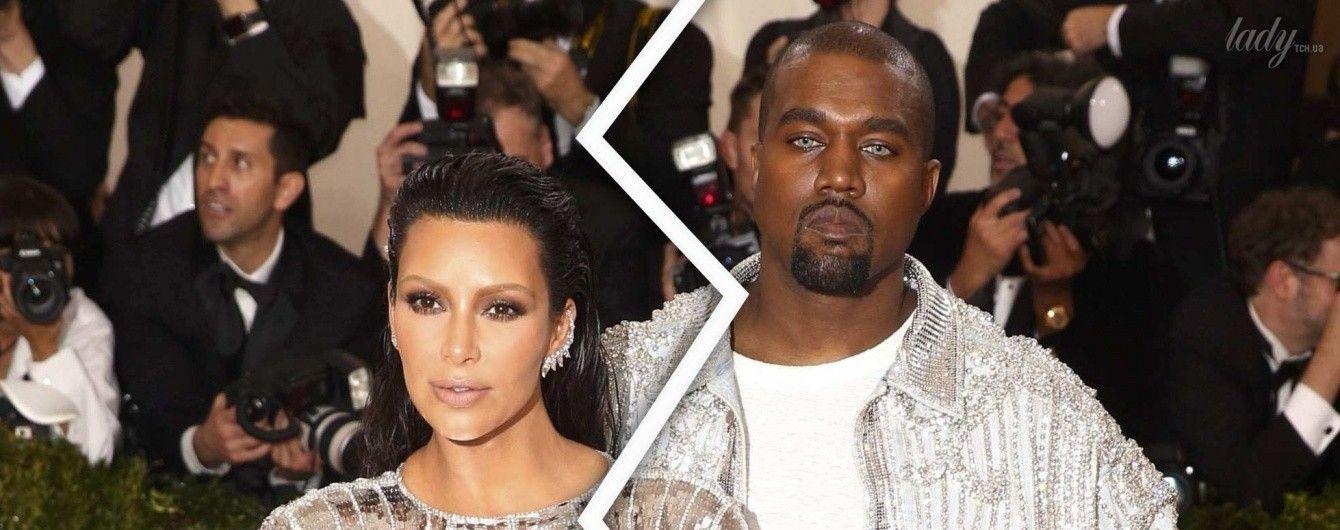 Сплетня дня: Ким Кардашьян и Канье Уэст больше не вместе