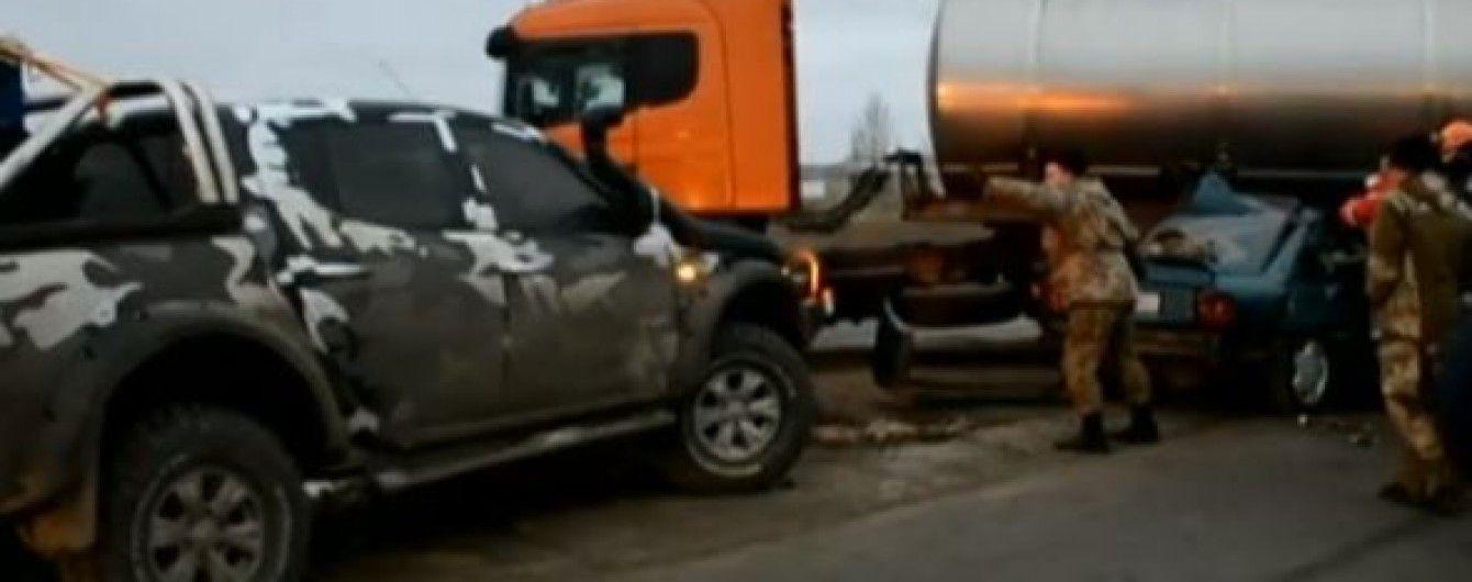 Військові, які загинули у аварії під Миколаєвом, потрапили до авто випадково