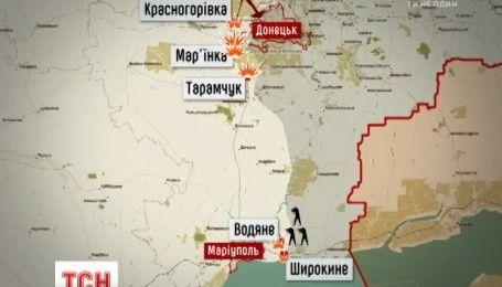 Боевики не прекращают обстреливать наши опорные пункты вдоль всей линии фронта