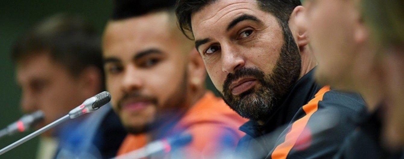 """Тренер """"Шахтера"""" пообещал ротацию состава в Лиге Европы и красивый футбол"""