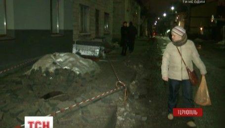 У Тернополі внаслідок вибуху у каналізаційній мережі постраждало 2 людини