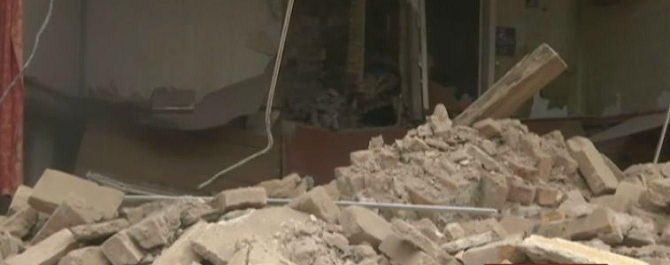 Житловий будинок обвалився у центрі Кропивницького