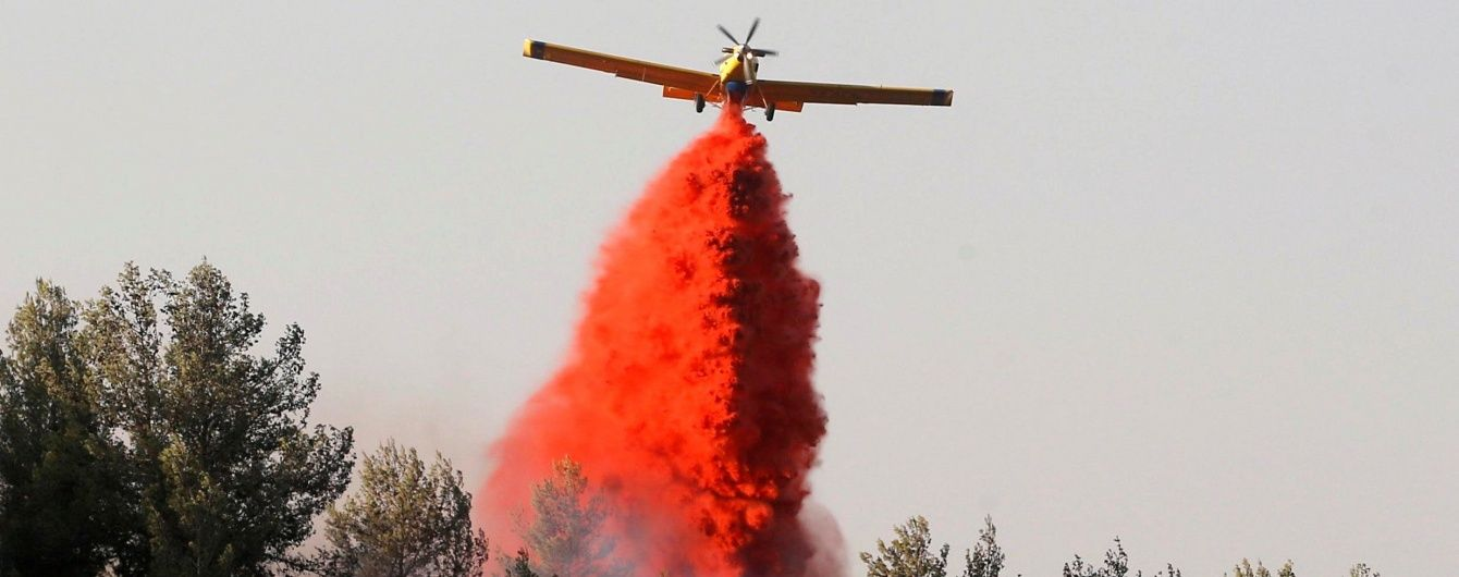 Україна допоможе Ізраїлю боротися із пожежами