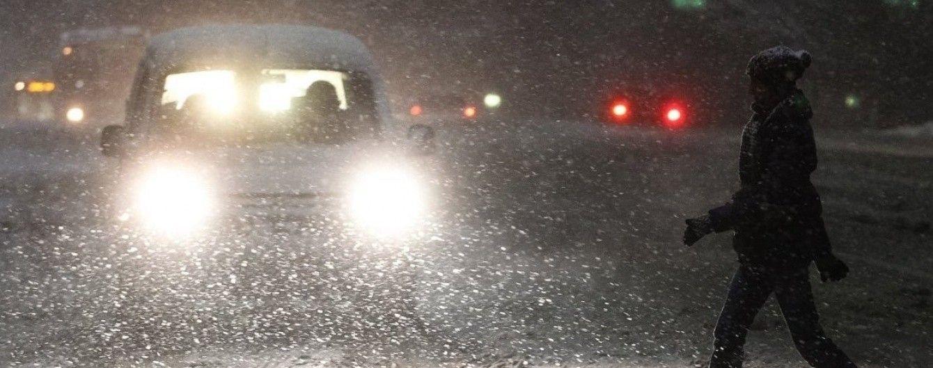 Туманно-снігова п'ятниця. Синоптики попереджають про різке погіршення погоди